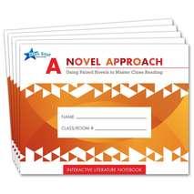 A Novel Approach: Literature Notebk Add-On Pack Grades 4-5