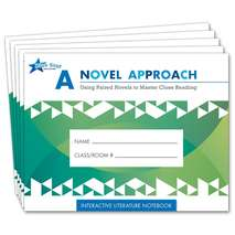 A Novel Approach: Literature Notebk Add-On Pack Grades 5-6
