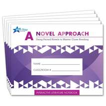 A Novel Approach: Literature Notebk Add-On Pack Grades 6-7