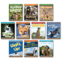 Ranger Rick's Reading Adventures Level B Classroom Library (10 titles)