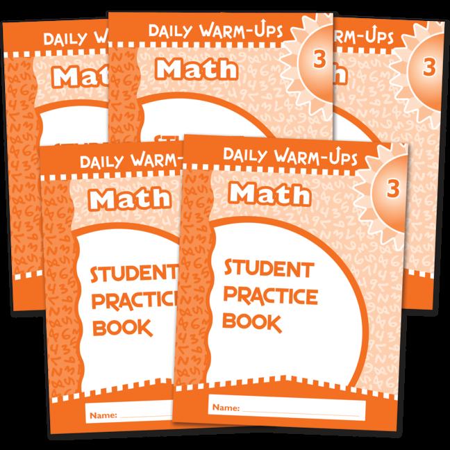 Daily Warm-Ups Student Book 5-Pack: Math Grade 3