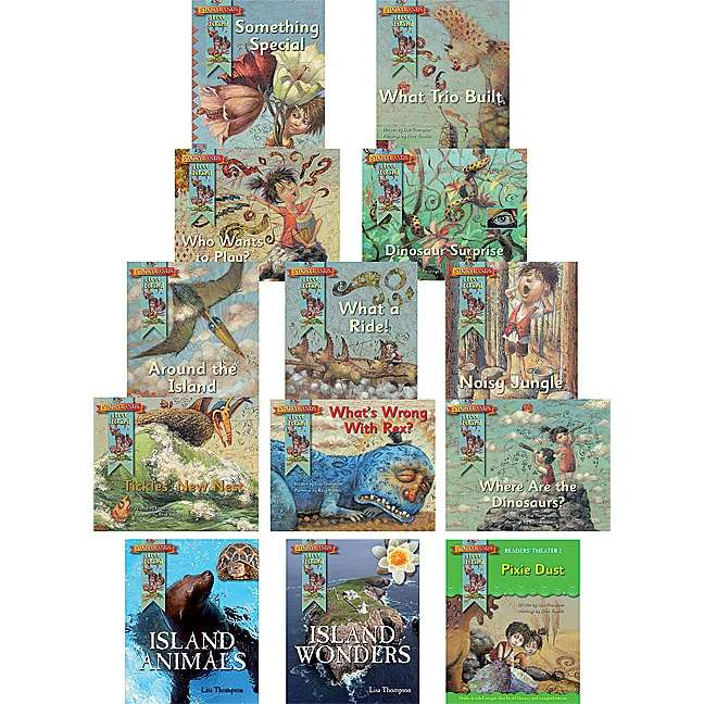 Lost Island Emergent/Early Reader Set (13 bks)