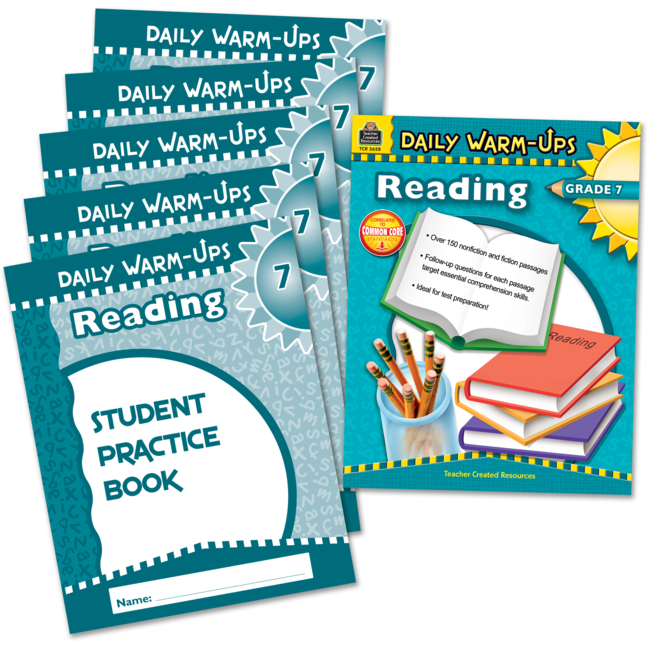 Daily Warm-Ups Bundle: Reading Grade 7 - Large Graphic
