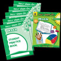 Daily Warm-Ups Bundle: Math Grade 4