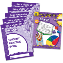 Daily Warm-Ups Bundle: Math Grade 6