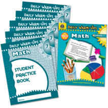 Daily Warm-Ups Bundle: Math Grade 7