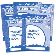 Daily Warm-Ups Student Book 5-Pack: Reading Grade 2