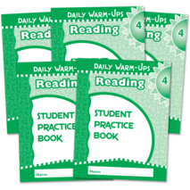 Daily Warm-Ups Student Book 5-Pack: Reading Grade 4