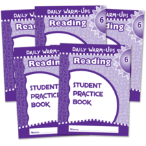 Daily Warm-Ups Student Book 5-Pack: Reading Grade 6