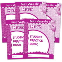 Daily Warm-Ups Student Book 5-Pack: Math Grade 5