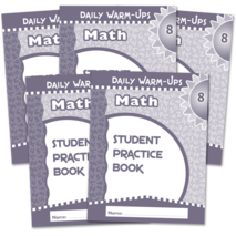 Daily Warm-Ups Student Book 5-Pack: Math Grade 8