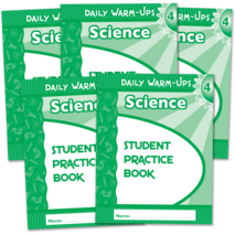 Daily Warm-Ups Student Book 5-Pack: Science Grade 4