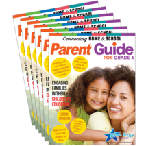 Connecting Home & School Parent Guide Grade 4 6-Pack: English