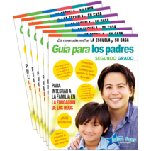 Connecting Home & School: Parent Guide Grade 2 6-Pack: Spanish