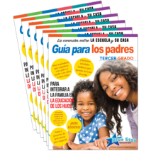 Connecting Home & School Parent Guide Grade 3 6-Pack: Spanish