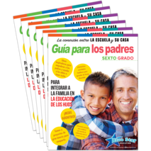 Connecting Home & School Parent Guide Grade 6 6-Pack: Spanish
