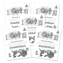 I Get It! Geometric Shapes Student Book-Level 1 5-Pack