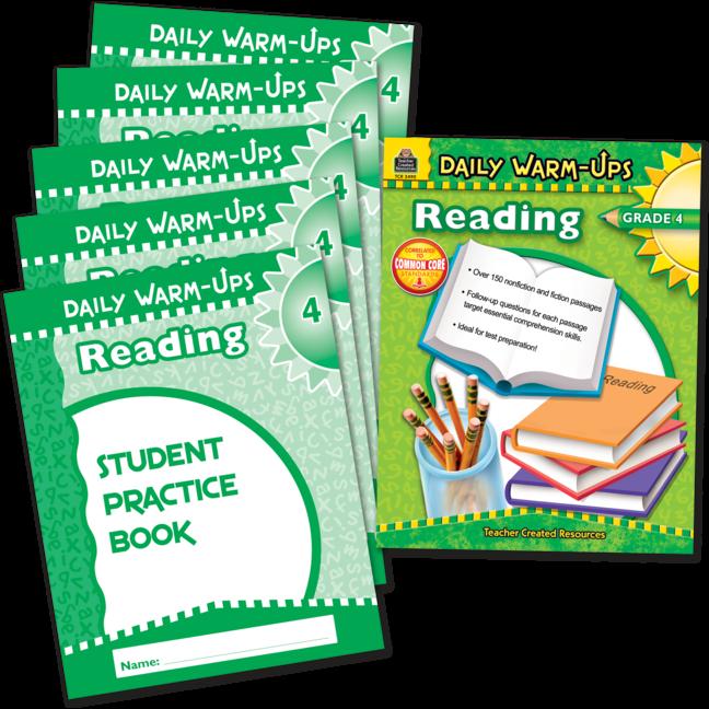 Daily Warm-Ups Bundle: Reading Grade 4