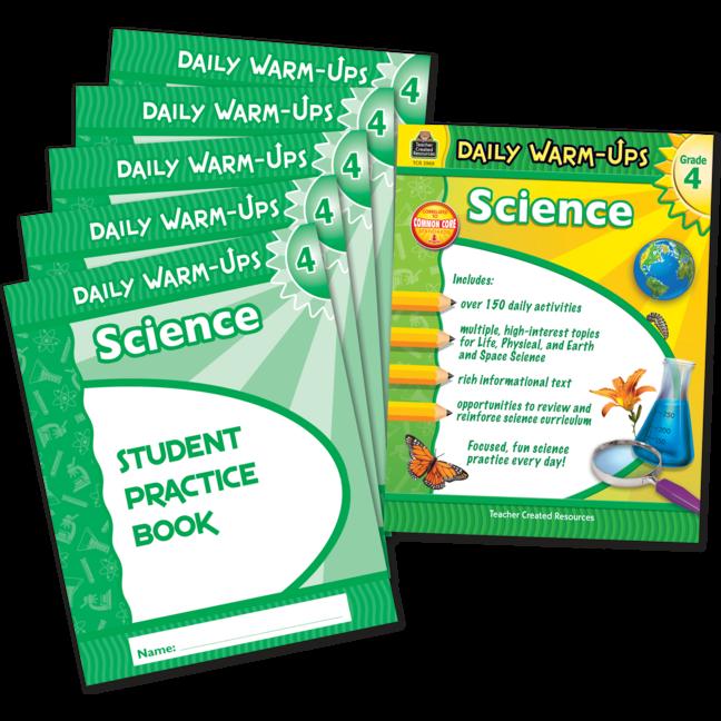 Daily Warm-Ups Bundle: Science Grade 4
