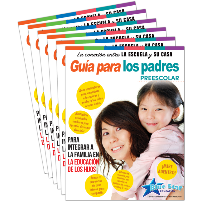 Connecting Home & School Parent Guide Grade PreK 6-Pack: Spanish